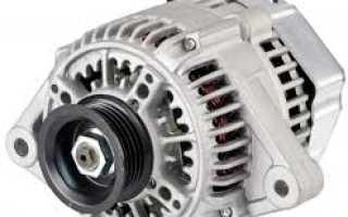 Принцип работы генератора переменного тока автомобиля