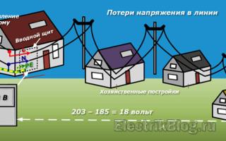 Выбор сечения кабеля по мощности и длине
