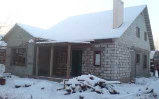 Как перестроить часть старого дома?