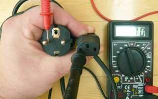 Как прозвонить провода мультиметром