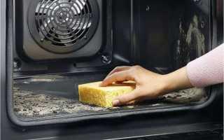Как почистить электрический духовой шкаф внутри?