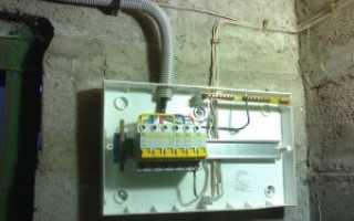 Электричество в гараже своими руками схема