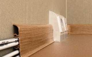 Как провести антенный кабель по квартире