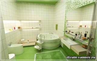Порядок выполнения ремонта в ванной комнате