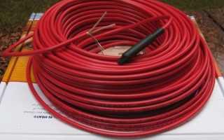 Можно ли соединять греющий кабель между собой