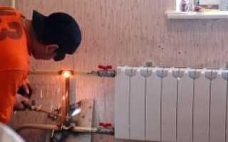 Как поменять батарею отопления в квартире самому?