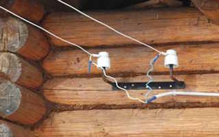 Провода электрические для внешней проводки