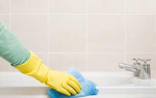 Можно ли чистить акриловую ванну доместосом?
