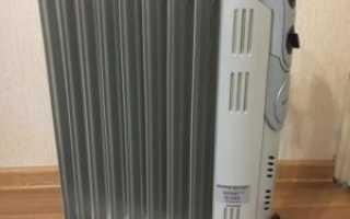 Почему масляный радиатор щелкает