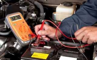 Нормальное напряжение генератора автомобиля