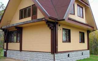 Чем лучше отделать цоколь кирпичного дома?