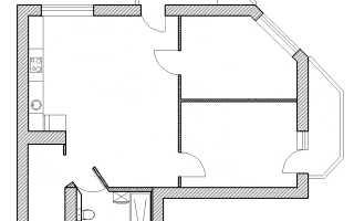 Схема проводки в двухкомнатной квартире панельного дома