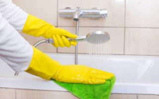 Чем очистить чугунную ванну после ремонта?