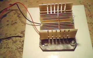 Как получить электричество от печки
