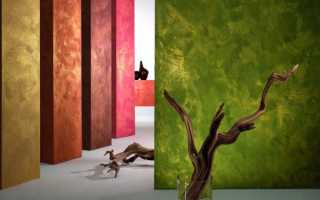 Декоративная покраска стен текстурными красками