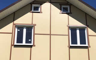 СМЛ панели для наружной отделки каркасного дома