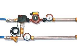 Принцип работы смесительного узла приточной установки