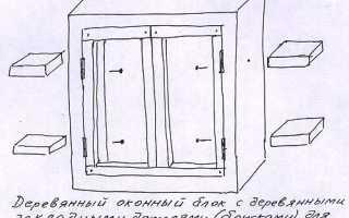 Как уменьшить оконный проем в кирпичной стене?