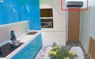 Можно ли устанавливать кондиционер на кухне?