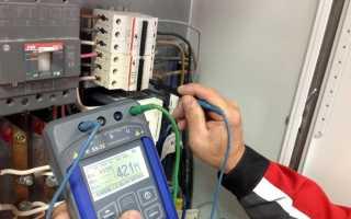 Сопротивление изоляции кабеля 10 кв норма