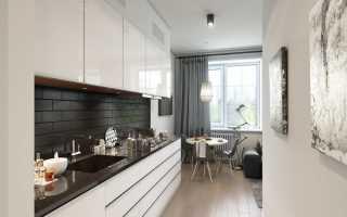 Как спланировать кухню 9 метров?