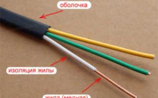 Монтажные провода и кабели их назначение