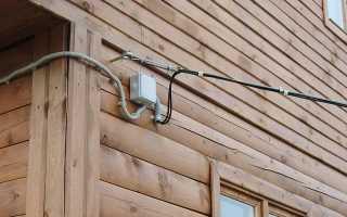 Марка провода для уличной проводки