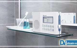 Музыка для ванной комнаты оборудование