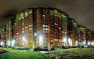 Нормы уличного освещения в городе