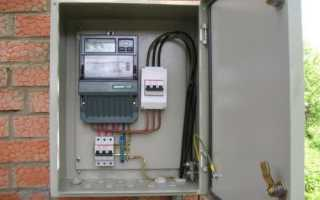 Опломбировка автомата перед электросчетчиком