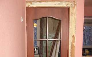 Отделка откосов межкомнатных дверей своими руками