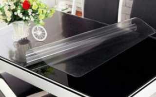 Как защитить стеклянный стол на кухне?
