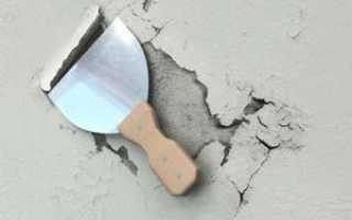 Технология ремонта фасада оштукатуренных стен
