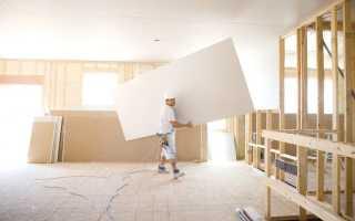 Какую нагрузку выдерживает гипсокартоновая стена?