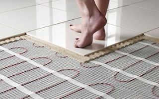 Как выбрать теплый пол электрический под плитку