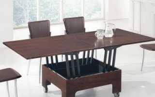 Как самому сделать стол трансформер своими руками?