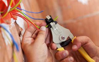 Определение сечения провода по мощности