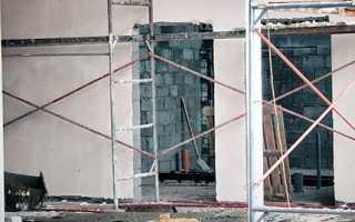Чем штукатурить стены из керамзитобетонных блоков внутри?
