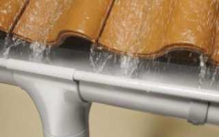 Крепление водосточных труб к стене расстояние