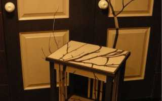 Реанимация старой мебели своими руками