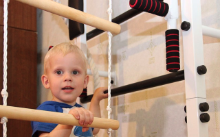 Нужна ли ребенку шведская стенка дома?