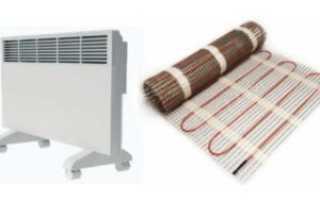 Отопительные приборы для дома электрические