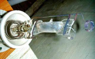 Как подключить лампу ДРЛ 250 без дросселя?