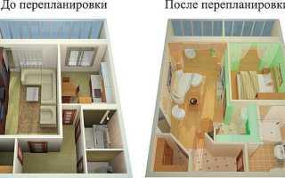 Можно ли переносить кухню в жилую комнату?