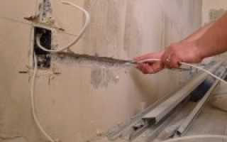Разводка проводки в квартире схема