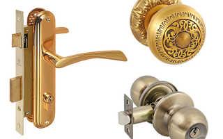 Снятие дверной ручки межкомнатной двери