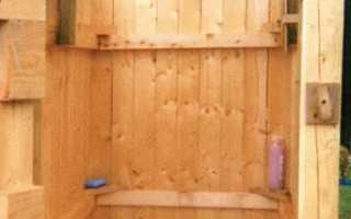 Чем обшить душевую кабинку на даче?
