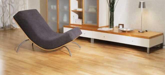 Как убрать вмятины на линолеуме от мебели?