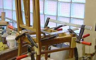 Как разобрать склеенную мебель?