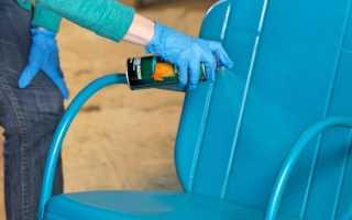 Как правильно покрасить металлическую поверхность?